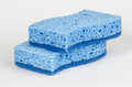 Blue sponges Stock Image