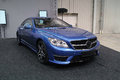 Blue Sports Car, Mercedes CL AMG