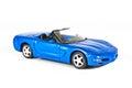 A Blue Sports Car