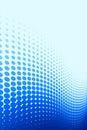 Blue Spot Pattern Royalty Free Stock Photo