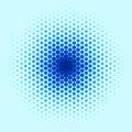 Blue Spot Pattern Royalty Free Stock Photography