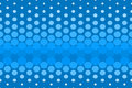 Blue Spot Pattern Royalty Free Stock Image