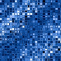 Blue square blocks background. Royalty Free Stock Photo