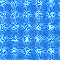 Blue square pixel mosaic background Royalty Free Stock Photo