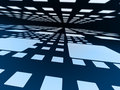 Blue squares. Royalty Free Stock Images