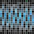 Blue Squares Pattern Stock Photos