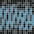 Blue Squares Pattern Royalty Free Stock Images