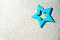 Blue star Royalty Free Stock Photo