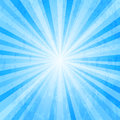 Blue Star Burst Background