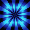 Blue starburst background Royalty Free Stock Photography