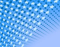 Blue stars Royalty Free Stock Photos
