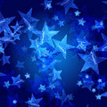 Blue stars Royalty Free Stock Photo