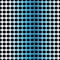 Blue steel seamless pattern with holes Royalty Free Stock Image