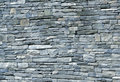 Blue-stone schist wall Royalty Free Stock Image