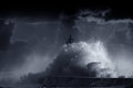 Blue storm Royalty Free Stock Photo
