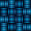 Blue stripe weave Royalty Free Stock Photo
