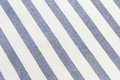 Blue striped tablecloth seamless pattern background Stock Images