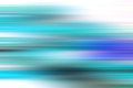 Blue and stripes moving fast over white background Royalty Free Stock Photo