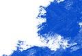 Blue Strokes Royalty Free Stock Photo