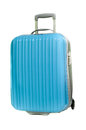 Blue Suitcase Royalty Free Stock Photo