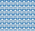 Blue summer sun and waves pattern background or fabric Royalty Free Stock Photo