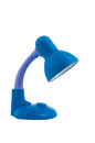 Blue table lamp Stock Images