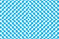 Blue tablecloth diagonal background seamless pattern Royalty Free Stock Photo