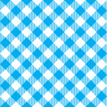 Blue tablecloth diagonal seamless pattern Royalty Free Stock Photo
