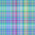 Blue tartan pattern Stock Image