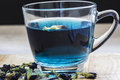 Blue Tea Stock Images