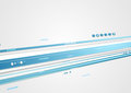 Blue tech corporate motion background with arrows