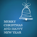 Blue technical square christmas gifts Stock Photo