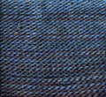 Blue texture closeup knitted background Royalty Free Stock Image