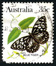 Blue Tiger Butterfly Australian Postage Stamp