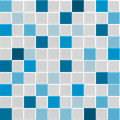 Blue tile texture square of wall and floor interior of bathroom pool kitchen vecto Royalty Free Stock Images