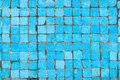 Blue Tiles Background Royalty Free Stock Photo