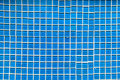Blue tone mosaic tiles seamless Royalty Free Stock Photo