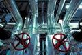 Blue Toned Interior Industrial...