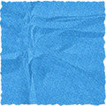Blue torn paper Stock Photography