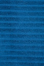 Blue towel texture Royalty Free Stock Image