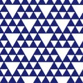 Blue triangle mosaic Stock Photography