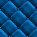 Blue upholstery. Royalty Free Stock Photography