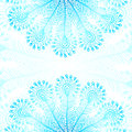 Blue vector peacock feathers background this is file of eps format Royalty Free Stock Images