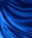 Blue velvet Royalty Free Stock Photo