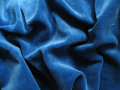 Blue velvet background Royalty Free Stock Photography