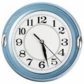 Blue wall clock Royalty Free Stock Images
