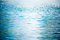 Blue water background Royalty Free Stock Photo