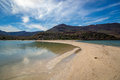 Blue water beach in Baja California Royalty Free Stock Photo