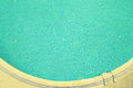 Blue water in a hotels swimming pool. Toned Royalty Free Stock Photo
