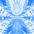 Blue water pattern Stock Image